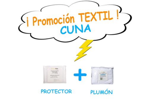 Promo 10 - Textil CUNA (protector + plumón)