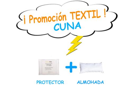 Promo 11 - Textil CUNA (protector + almohada)