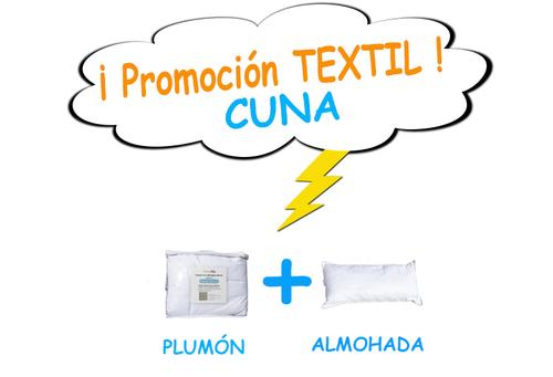 Promo 12 - Textil CUNA (plumón + almohada)