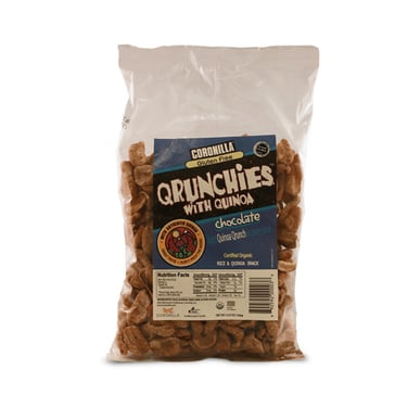 Qrunchies Chocolate-Sin Gluten