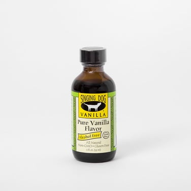 Extracto de Vainilla 2oz Alcohol free pure vainilla flavor