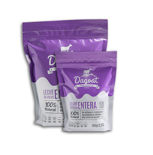Pack 6 leches Entera 900 grs - Dagoat ($14.500x unidad)