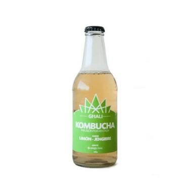 Limon jengibre individual ghali kombucha