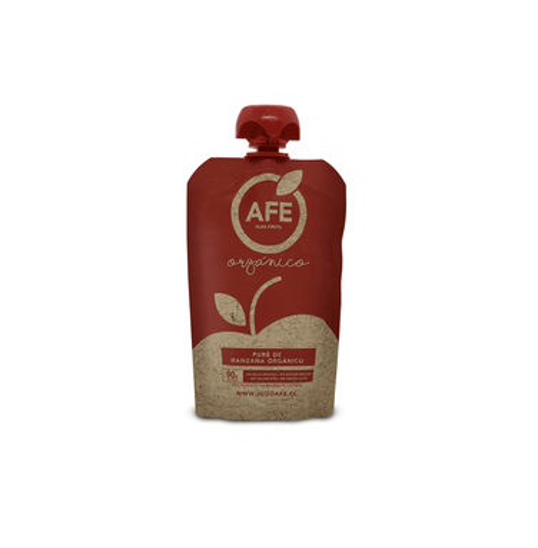 Pack 6- Pure de Manzana orgánica -90 grs ($700 x Unidad)