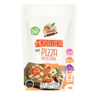 Mezcla Pizza Sin Gluten (Myfoods) -1 Kilo