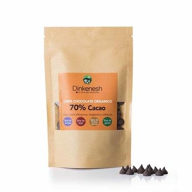 Chips 70% orgánico DINKENESH-100 grs