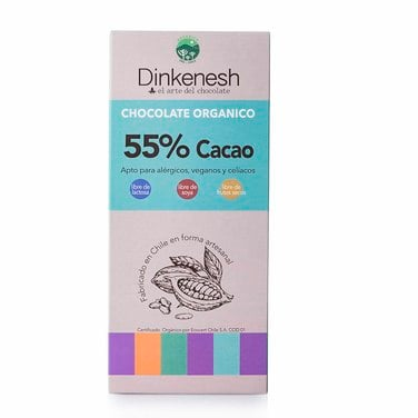 Chocolate 55% orgánico-DINKENESH