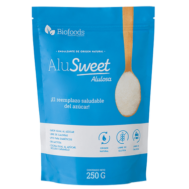 AluSweet Alulosa en Polvo 250 g