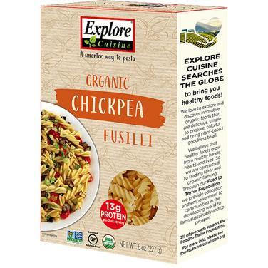 Pasta Fussili de garbanzo -227 grs