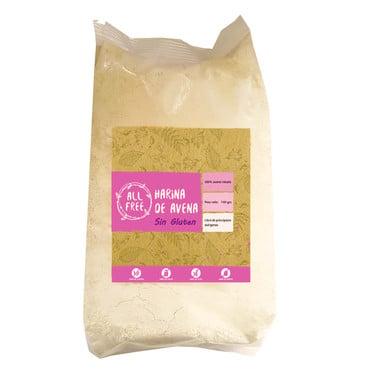 Harina de Avena Integral sin gluten ALLFREE -400 grs