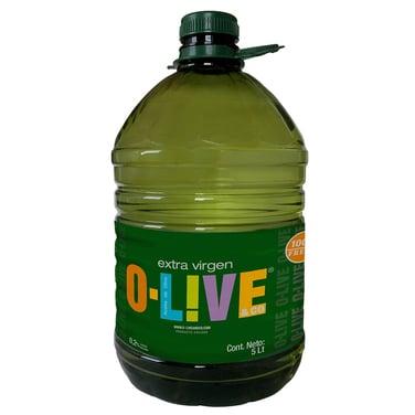 ACEITE DE OLIVA EXTRA VIRGEN - 5 LTS