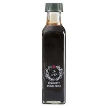 REDUCCIÓN ACETO BALSÁMICO Y MERLOT - 250 ml