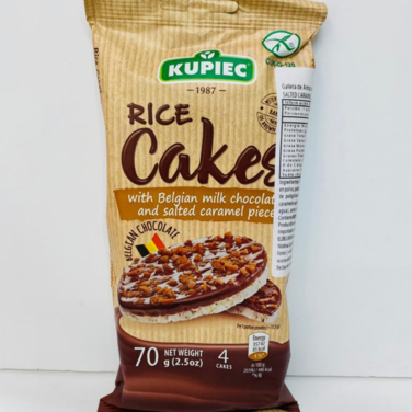 Galleta de arroz Chocolate Salted Caramel