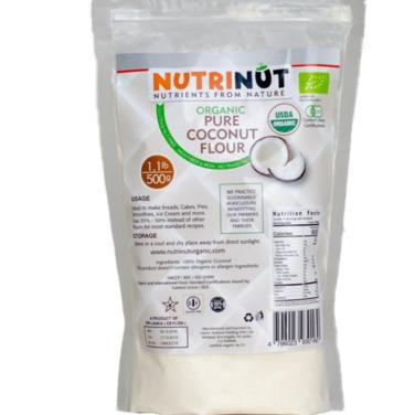 Harina de coco Nutrinut- 500 grs