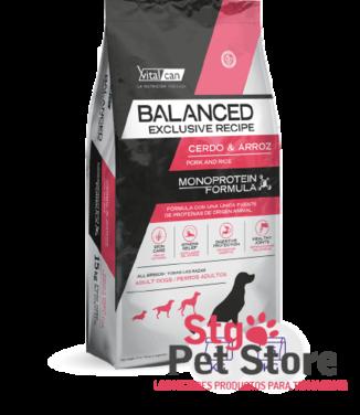 VitalCan Balanced Perro Adulto Cerdo Arroz 15 Kg