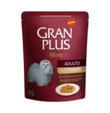 Gran Plus Perro Alimento Humedo 85 Grs