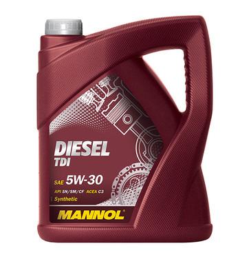 LUB MANNOL 5W30 SN/CF DIESEL TDI 5L