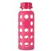Botella de vidrio 250 ml con tapa plana