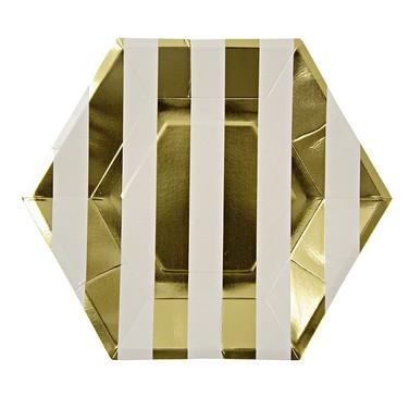 Platos de Cartón - Linea GOLD