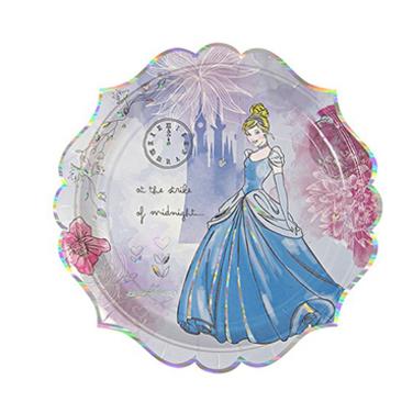 Platos de Cartón - Princesas Disney grande
