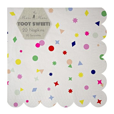 Servilletas de papel Toot Sweet Charms