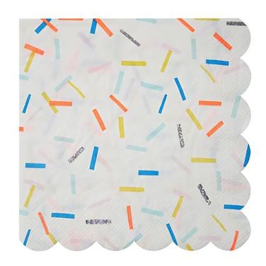 Servilletas de papel Sprinkles