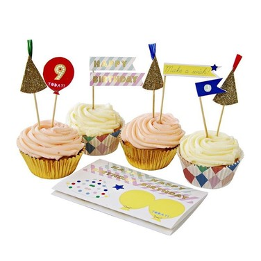 Set de Cup Cake HARLEQUIN