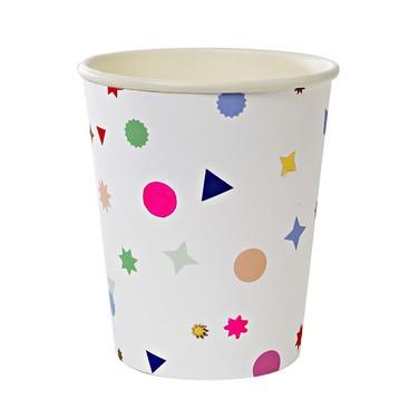 Vasos de cartón - Toot Sweet Charm Pattern Party