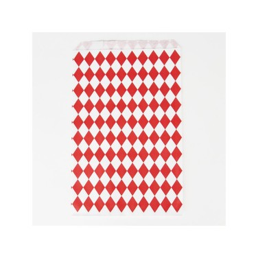 Bolsitas para Dulces - Rombos Rojos