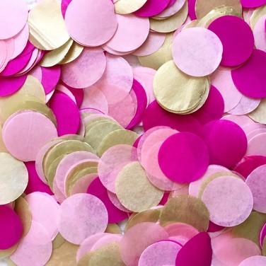 Confetti GOLD ROSA