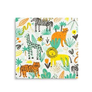 Servilletas de papel animales