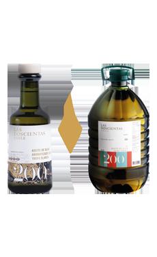 Pack Aceite de oliva Extra Virgen Las 200 Blend 5 lt + Trufa Blanca 250 ml