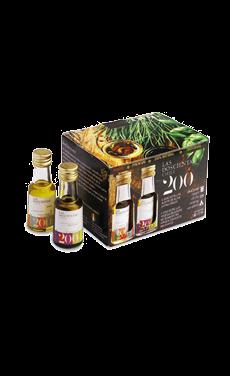 Pack Aceite de oliva Extra Virgen Las 200 Blend con Aceto balsamico di modena 15 ml 12 unid