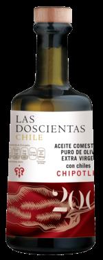 Aceite de Oliva extra virgen con chile chipotle 100%