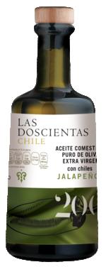 Aceite de oliva extra virgen con Jalapeño 100%