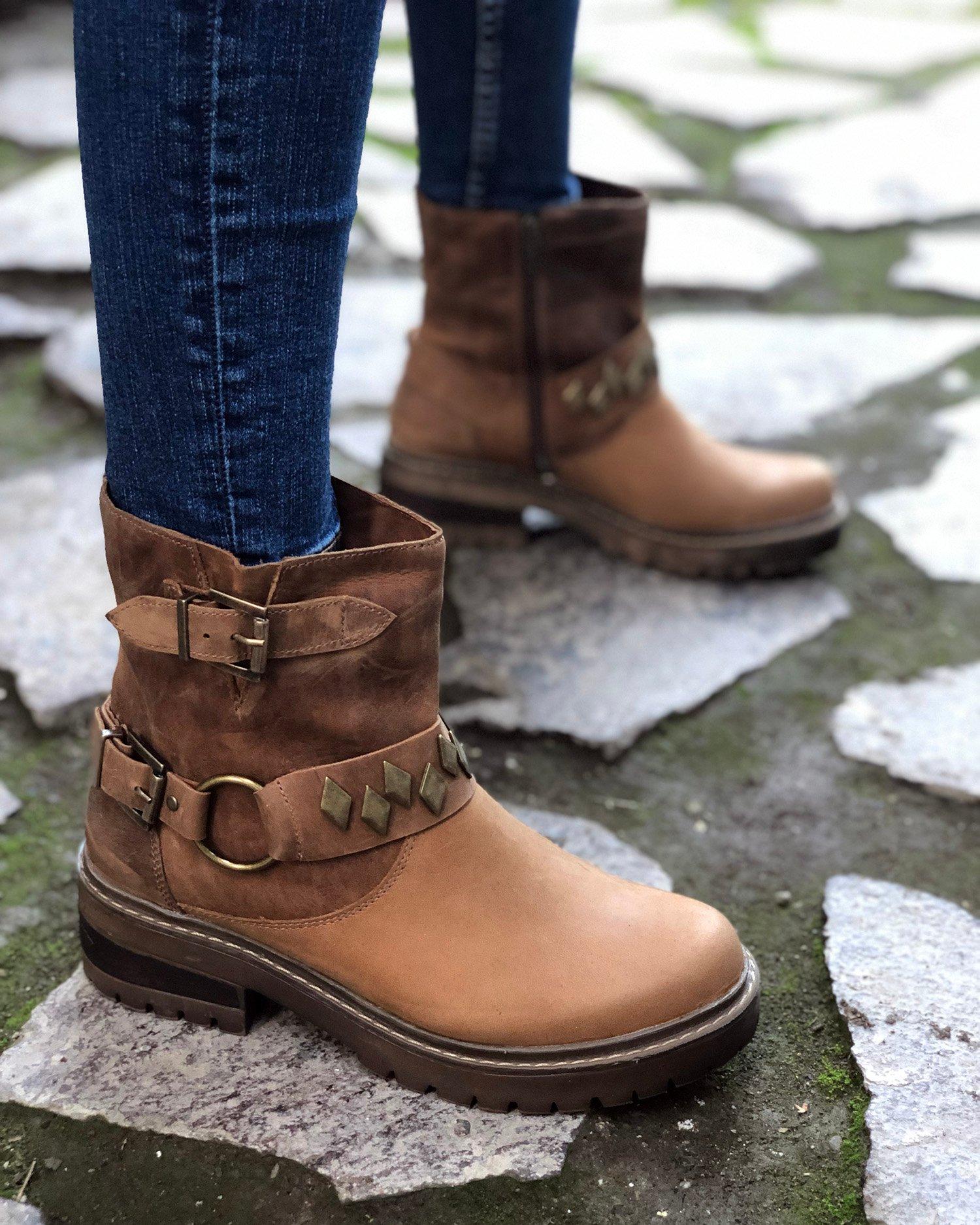 Tienda De Romano 190591 Zapatos Mujer Cafe Online KcF3Tl1J