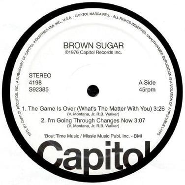 Capitol Disco Sampler EP