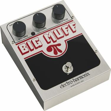 Pedal Big Muff Pi (Distorsion, Sustain)
