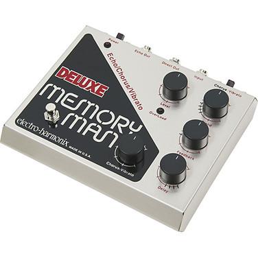 Pedal Deluxe Memory Man (Delay análogo + chorus + vibrato)