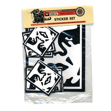 Set de Stickers Obey 1 / Icon Face