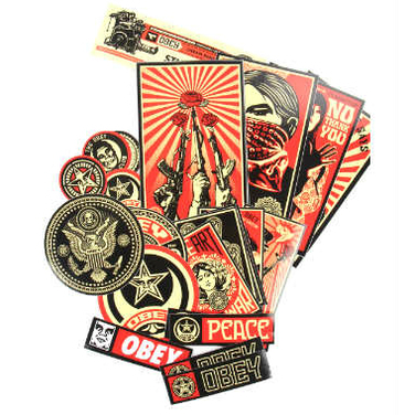 Set de Stickers Obey 2 / Propaganda
