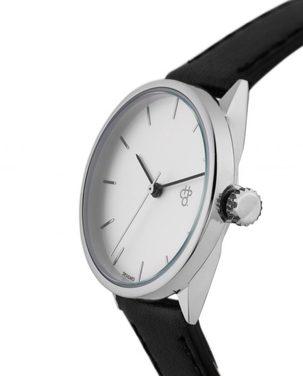 Reloj Khorshid Mini Silver Negro
