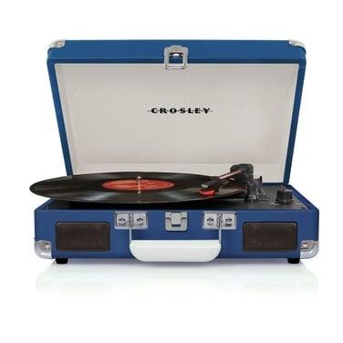 Tocadiscos Crosley Cruiser Deluxe Azul
