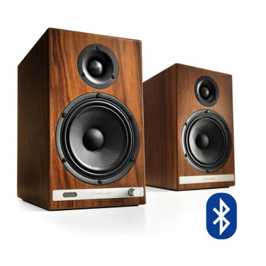 Parlantes Bluetooth HD6 Walnut