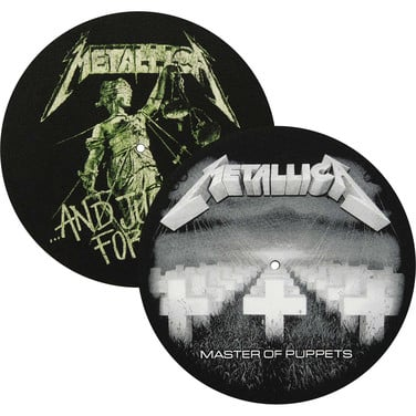 Slipmat Metallica Master of Puppets / And Justice for All (Par)