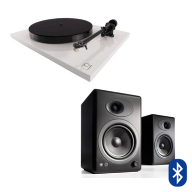 Tornamesa Planar 1 Plus + Parlantes A5+ Wireless