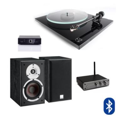Tornamesa Planar 2 + Pre A2D + Amplificador Fx Audio + Parlantes Spektor 2