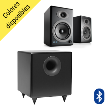 Parlantes A5+ Wireless + Subwoofer S8