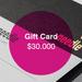 Gift Card $30.000