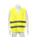 Chaleco Reflectante Seguridad Amarillo Fluor Reglamentario